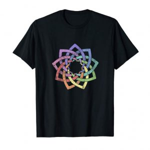 Get Kids Child Sized Woven 9 Pointed Star - Vintage Style Baha'i Tee