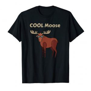 Get Cool Moose Funny Moose T Shirt, Moose Gift