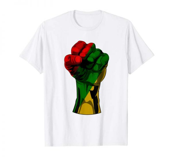 Trending Black History Month T Shirt Fist Gift Women Men Kids