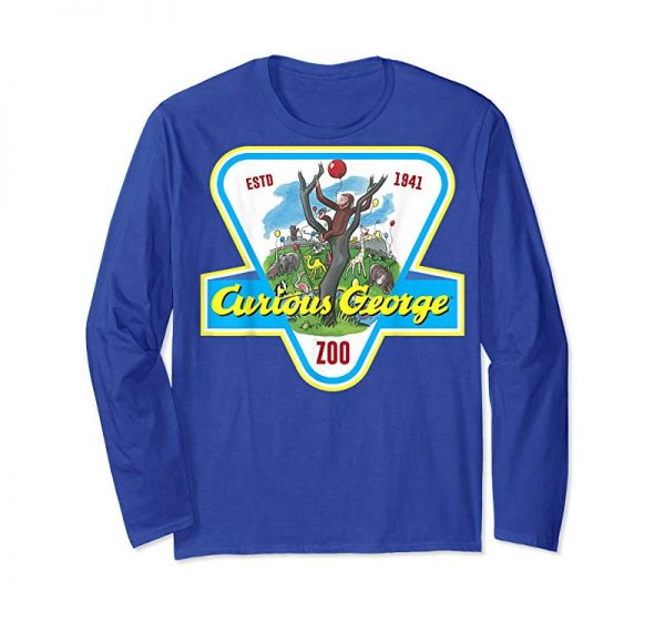 Buy Now Curious George ESTD 1941 Zoo Badge Graphic T-Shirt