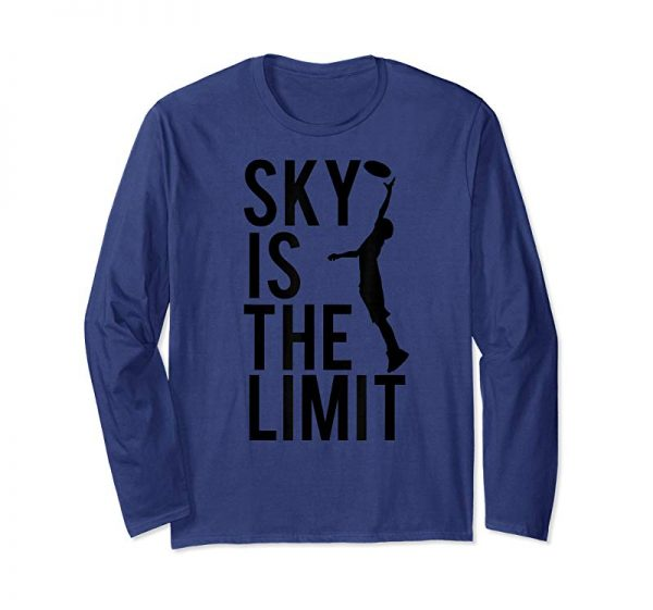 Trending Sky Is The Limit - Ultimate Frisbee T-shirt - TeeJunkee