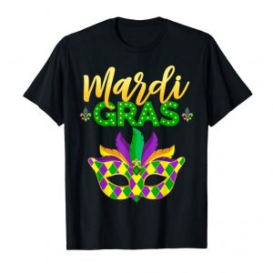 Buy Mardi Gras 2019 T-shirt Carnival Celebration Distressed Gift