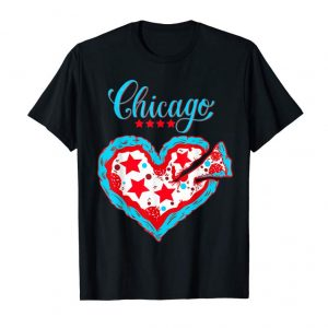 Order Now Happy Valentines Day Deep Dish Chicago Flag As Pizza T Shirt