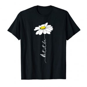 Get Let It Be Hippie Flower T-Shirt Gift