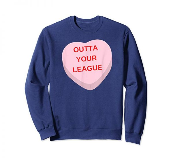 Cool Sarcastic Cute Ironic Candy Heart Valentines TShirt Gift