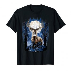 Buy Now Deer Hunting T-Shirt For Hunters Whitetail Buck With Antlers