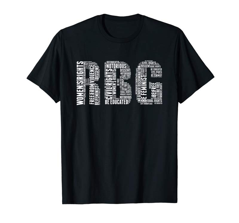 Trends RBG Notorious TShirt Feminist Women Rights Support Tee