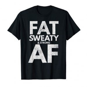 Trending Funny Powerlifter Fat Strongman Powerlifting Strong & Heavy