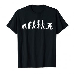 Buy Bowling Evolution Funny T-shirt Gift
