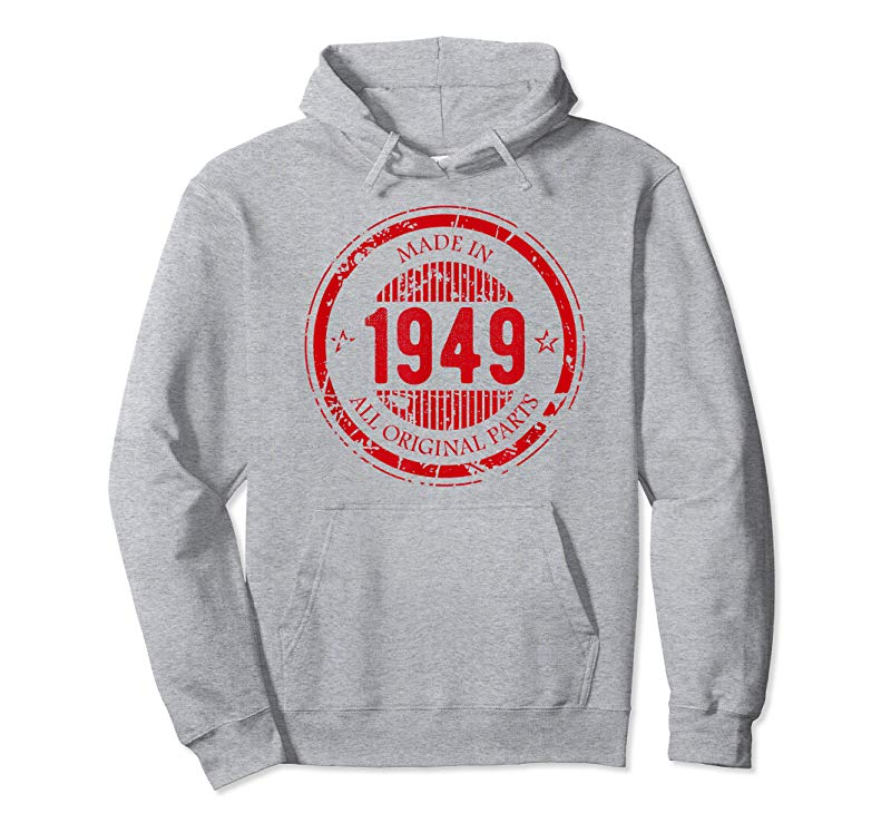 Women/'s Made in 1949 All Original Parts T Shirt 70th Birthday Party Gift T-Shirt