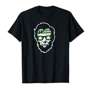 Cool St. Patrick's Day Abe Lincoln Presidents Murica Hoodie