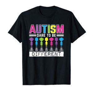 Buy Now Autism Dare To Be Different Autistic Awareness