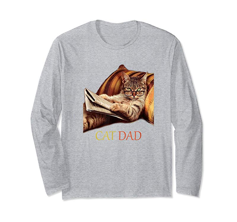 Order Funny Cat Dad Shirt For Cat Lovers Daddy-Fathers Day Gift