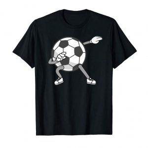 Order Dabbing Soccer Ball Shirt | Cute Striking Football Tee Gift
