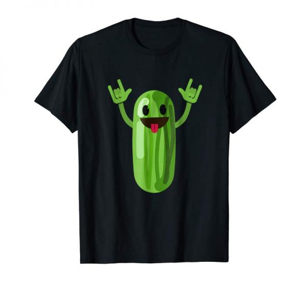 Order Now Dancing Cucumber T-Shirt Funny Dance Fruit Dancer Gift Tee