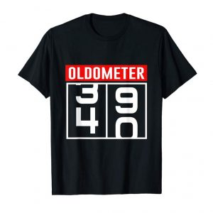 Trending Oldometer 40 Years Old T-Shirt 40th Birthday Gift