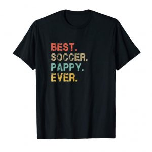 Trends Mens Best Soccer Pappy Ever T-Shirt Father's Day Gift