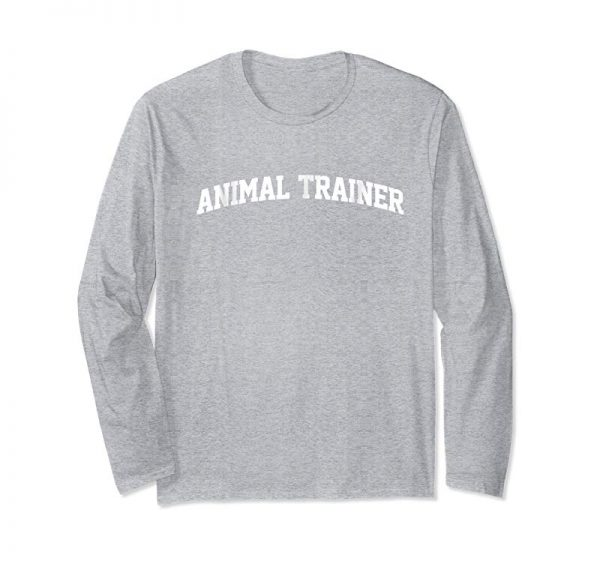 Buy Now Animal Trainer Job Uniform Costume Party Funny T-Shirt