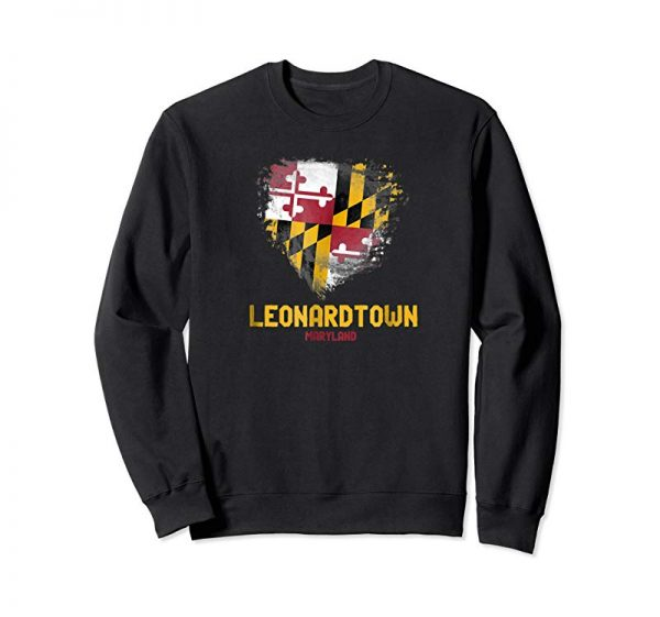 Order Now Leonardtown Maryland Vintage Style T-shirt