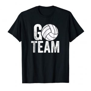 Trending Go Team Volleyball T-Shirt Player Team Coach Mom Dad Family