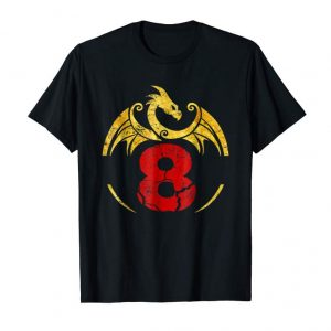 Buy 8th Birthday Gift Dragon Shirt