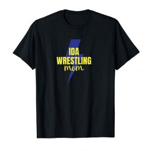 Cool Ida Bluestreaks Wrestling Mom Hoodie