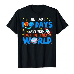 Order Now 100 Days Of School Shirts Boys Space Out Of This World