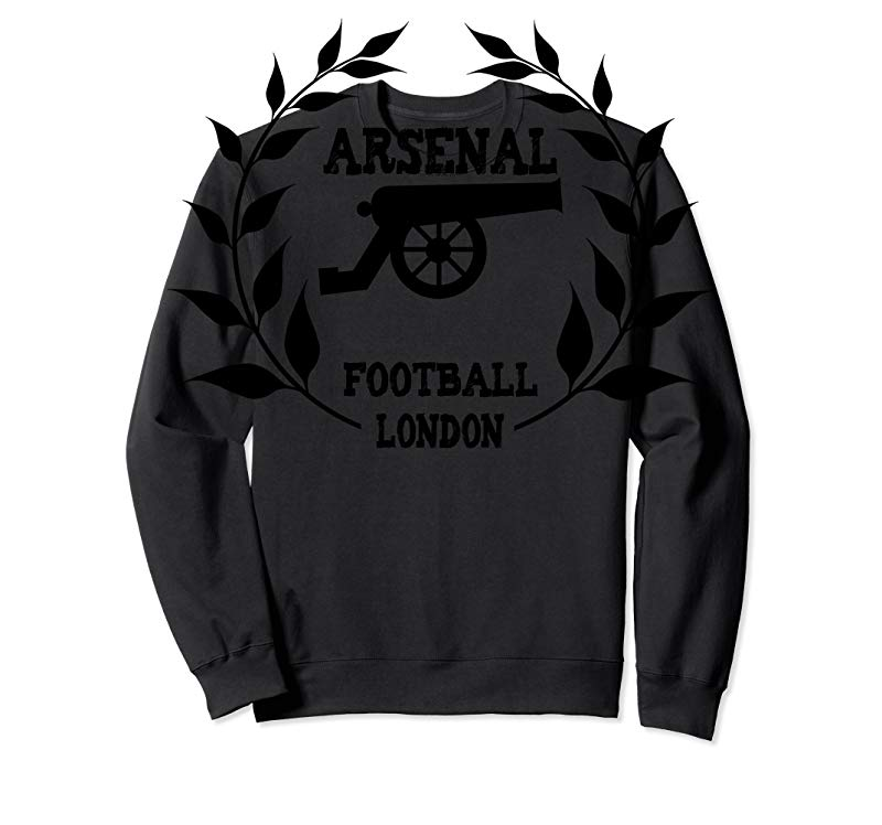 detailed look 5de11 08930 Order Now Arsenal Soccer Jersey T-shirt London Cannon Black UK - Tees.Design