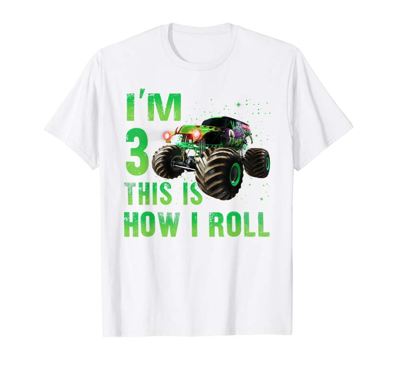 Order Im 3 This Is How I Roll Years Old 3rd Birthday Shirt