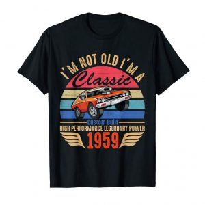 Buy 60th Birthday Gift Ideas Classic 1959 T-shirt For Men Women