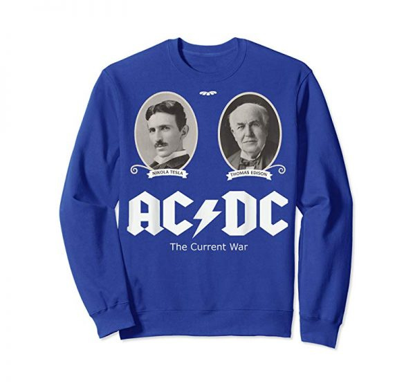 Buy Funny AC Or DC Current Electricians Electrical T-Shirt