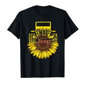 Buy Jeep Sunflower Funny T-shirt For Men Women, Jeep Lover Gifts