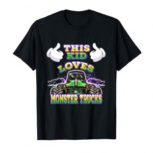 Buy Kids Monster Truck Toddlers And Kids T-Shirt