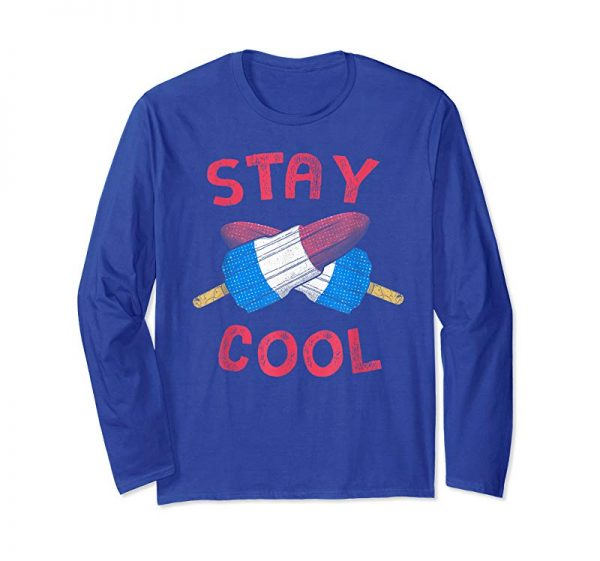 Get Stay Cool 4th Of July Kid Popsicle Summer Freedom T Shirt