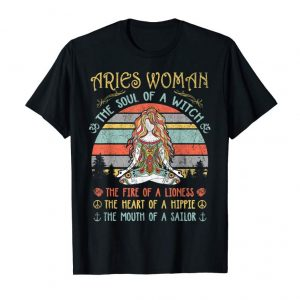 Buy Now Aries Woman The Soul Of A Witch Vintage Mothers Day Gift