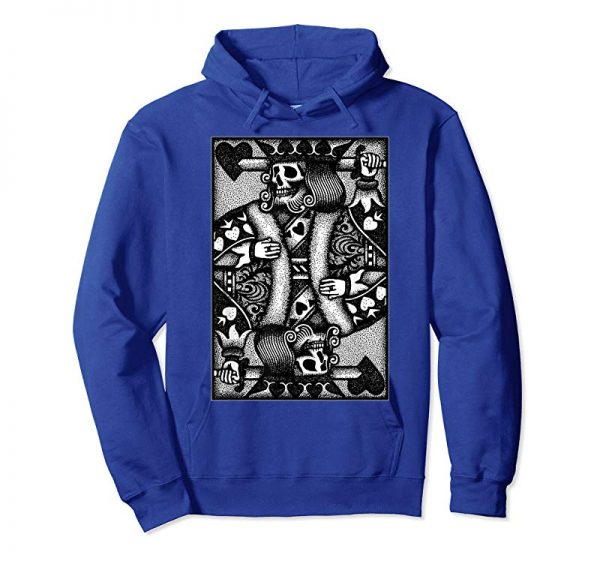 Get Now Dead King - Gothic Playing Card SHIRT