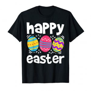 Buy Happy Easter T-Shirt Eggs Tshirt Egg Hunting Gift Tee