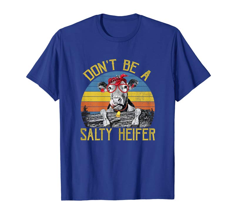 Salty Simple Design Womens T-Shirt