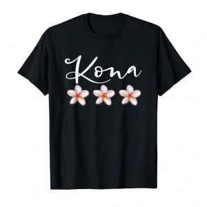 Get Now Kona Hoodie Hawaiian Plumeria Vacation Luau Shirt