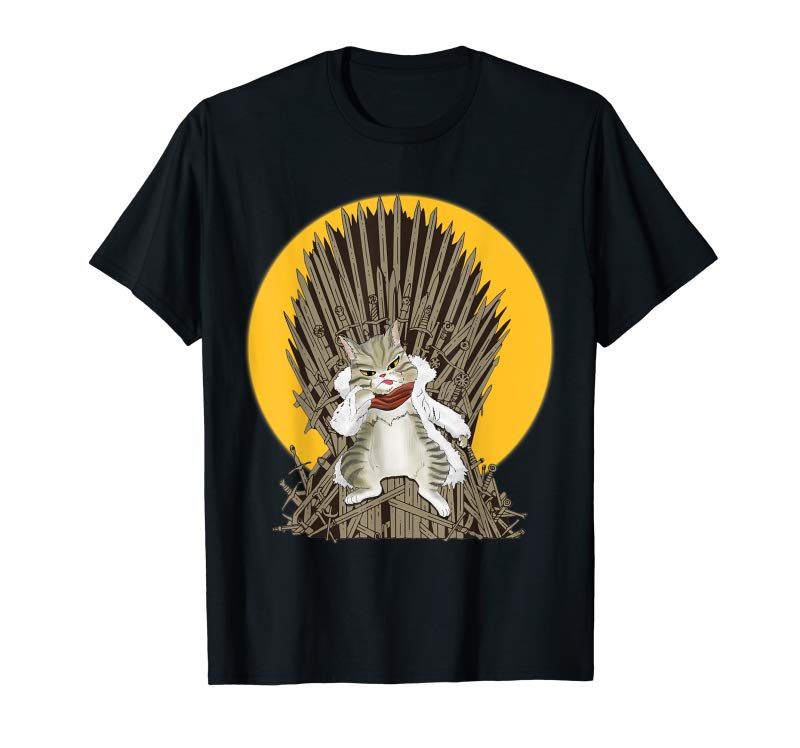 Order Now Cat Of Thrones Funny Cat Lover T Shirt