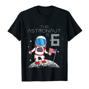 Buy Kids 6th Birthday Astronaut Shirt Boys Gift 6 Year Old Space Geek
