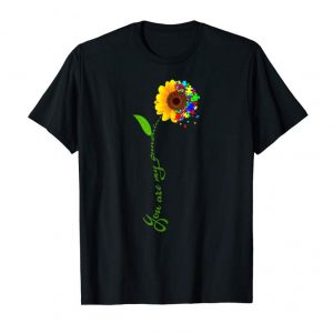 Buy You Are My Sunshine Autism Sunflower T-Shirt For Men Women