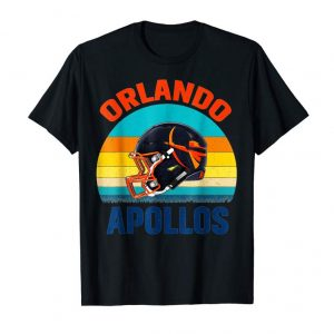 Get Now Vintage Orlando Football Apollos T-Shirt For Real Fans Club