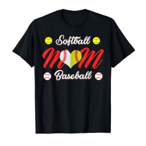 Buy Now Baseball Heart T Shirt, Gift For Softball Mom Or Dad, Team