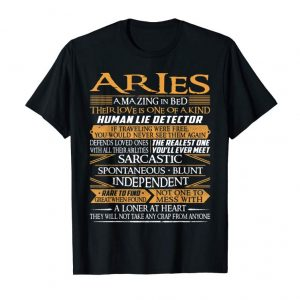Order Now Aries Amazing In Bed Shirt - Funny Aries Birthday T-Shirt
