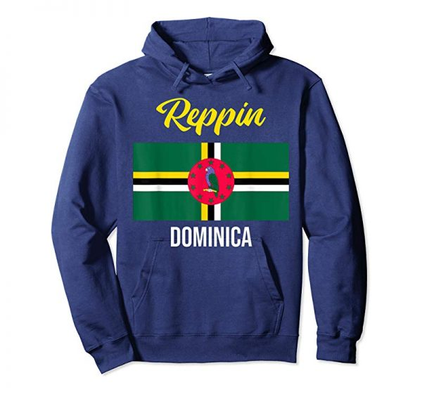 Trending Dominica Flag Reppin West Indies Vacation T Shirt