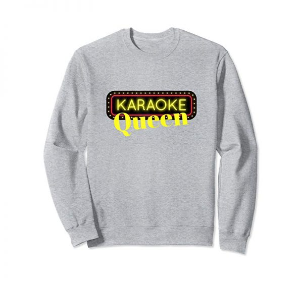 Buy Karaoke Queen T-Shirt Singing Music Lovers Party Girl Gift