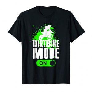 Get Now Motorcross Dirt Bike Mode On Youth Racing Rider Shirt Gift