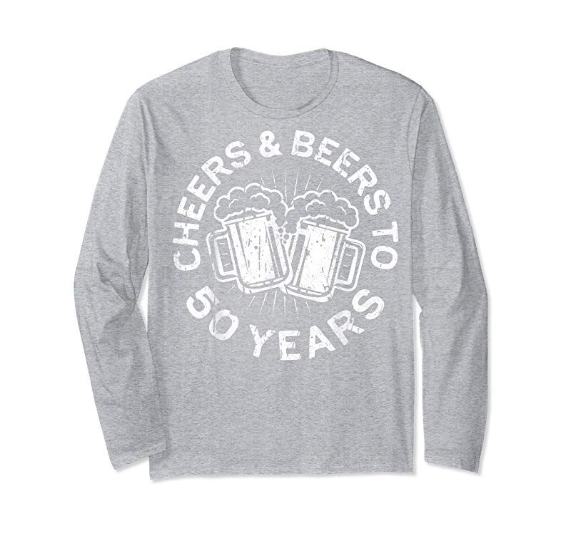 e1b93119dfb33 Get Now Cheers And Beers To 50 Years T-Shirt 50th Birthday Gift -  Tees.Design