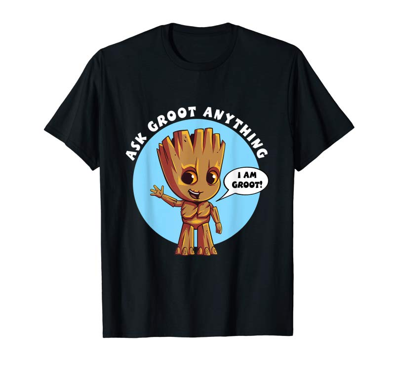 696087ed1 Buy Now Marvel Ask Groot Anything I Am Groot T-Shirt - Tees.Design